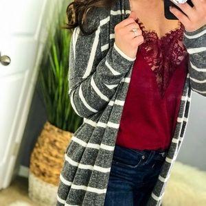 Sweaters - 🆕 GABBY CARDIGAN IN GRAY
